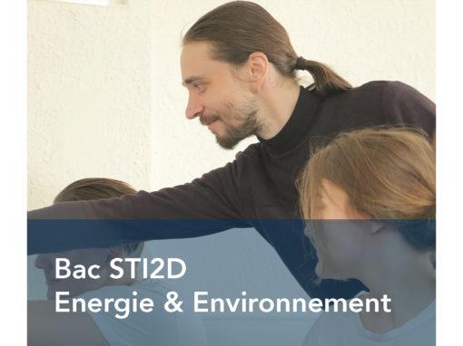 Bac STI2D Energie & Environnement