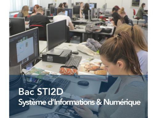 Bac STI2D Systèmes d'Information & Numérique